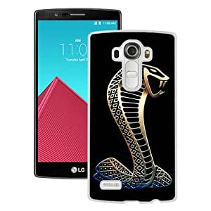 Popular LG G4 Case ,Beautiful And Unique Designed With Mustang Shelby Cobra 2 White LG G4 Cover