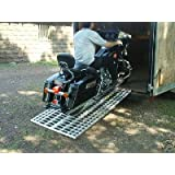 Aluminum Ramp 6 ft. USA - Motorcycles Onto Trailers - 444MCDR Ramp