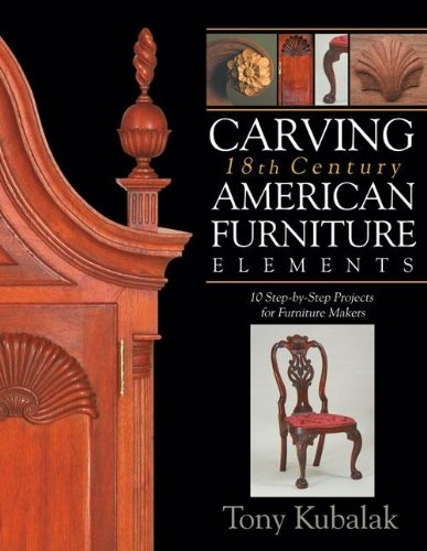 Carving 18th Century American Furniture Elements: 10 Step-By-Step Projects for Furniture Makers 18th Century English Furniture