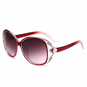BiuTeFang Gafas de Sol Mujer Hombre Polarizadas de señora ...