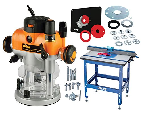 Plunge Router Reviews (Kreg Router Table W/ Triton Router,Insert Plate,Template Guide & Router Bit Set)