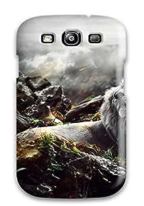 New Premium Flip Case Cover Jungle Lion Skin Case For Galaxy S3 7569991K36150565