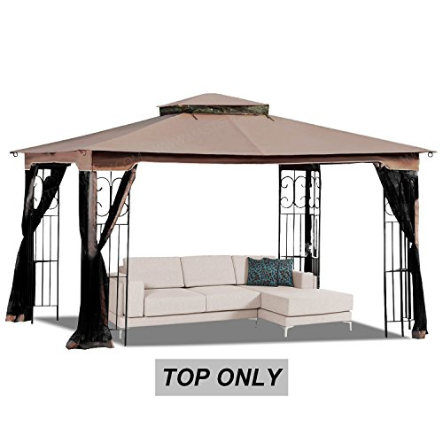 MASTERCANOPY 10' x 12' Gazebo Replacement Canopy Roof for Model GZ798PST-E (Only Top) by MASTERCANOPY
