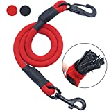 Cheap AMZNOVA Dog Seat Belt, Explosion-proof Rushed Dog Car Harness Restraint Pet Safety Latch Seatbelt Durable for Cat Puppy Small Large Dogs Travel Carring Red, M