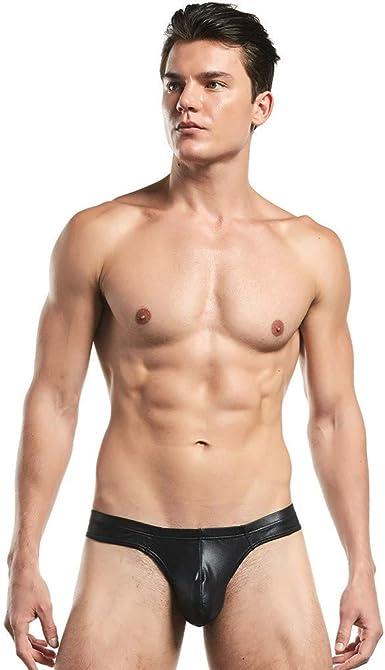Mens G-string Briefs Open Butt Underpants Low Rise Bulge Pouch Bikini Panties