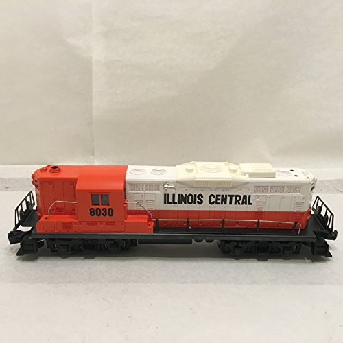 Gp9 Diesel Locomotive - Lionel 8030 Illinois Central GP-9 Diesel Locomotive