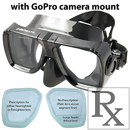Promate Scuba Dive Mask Camera Mountable, AB