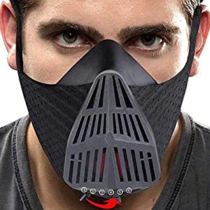 ZSport Training Mask – Workout Mask with 6 Breathing Resistance Levels, High Altitude Elevation Simulation for Running…