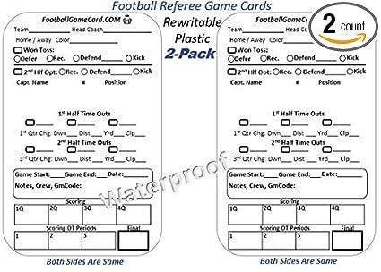 Amazon.com: Fútbol – Tarjeta de juego oficial de ...