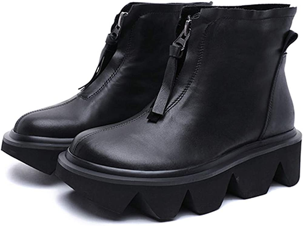 XZXZ Women'S Ankle Boots Booties High