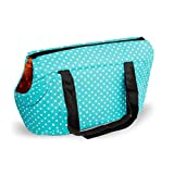 Pet Carriers Bag, Portable Small Pet Dog Puppy Cat Travel Outdoor Carrier Carry Tote Bag - Go Shopping, Hiking, Walking, with Doggy (L:20.47 x9.84x9.84in, Blue)