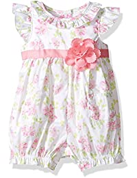 Baby Girls' Woven Sunsuit