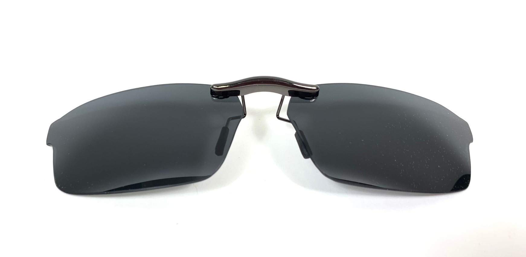 Custom Polarized CLIP-ON Sunglasses (Color: Grey) FOR Ray-Ban RB5279 Size 55x18 (Frame NOT Included) by Pasadena Shades