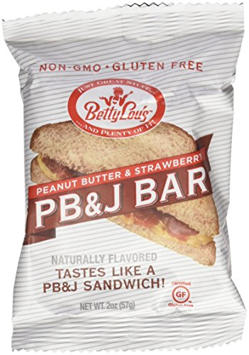 (Betty Lou's PB&J Bar Strawberry (12 pack))