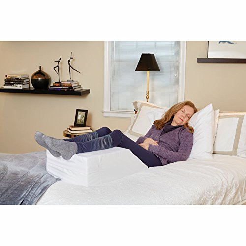 Restful Leg Support - Elevating Bed Wedge Foam Leg Rest