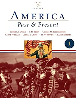 Amazon america past and present volume 1 to 1877 8th 1 america past and present brief edition volume i 7th edition fandeluxe Image collections