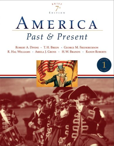 america past and present volume i - 5