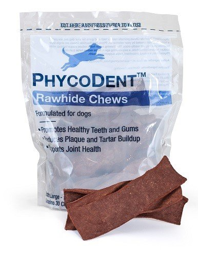 X-large Rawhide (Dechra Phycodent Rawhide 30 Chews for X-Large Dogs Over 50 lb)