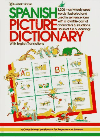 Spanish Picture Dictionary by Passport