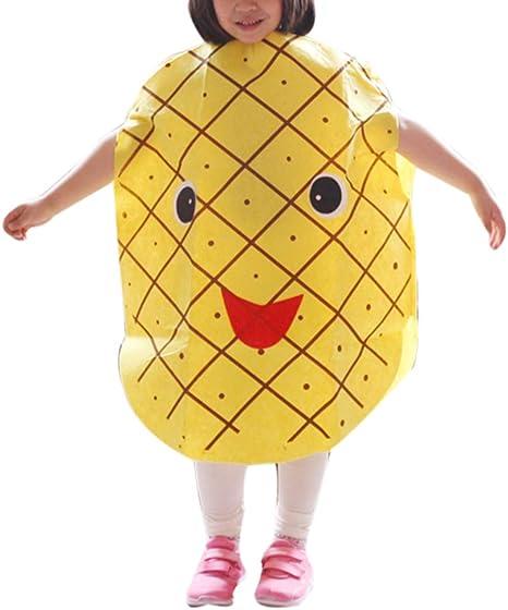 zhxinashu Niños Ligeros Frutas Halloween Fiesta Disfraces Niñas ...