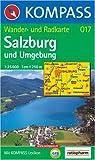 Salzburg und Umgebung: Wander- und Radkarte. GPS-genau. 1:25.000