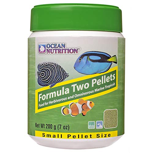 Ocean Nutrition Formula Two Pellets 7-Ounces (200 Grams) Jar - Small Pellet Size