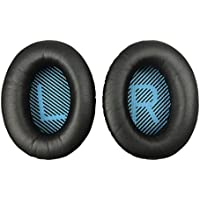 Ear Pad Replacement for Bose QuietComfort 2 15 25 35 Ear Cushion for QC2 QC15 QC25 QC35 AE 2 2i 2w Color Black