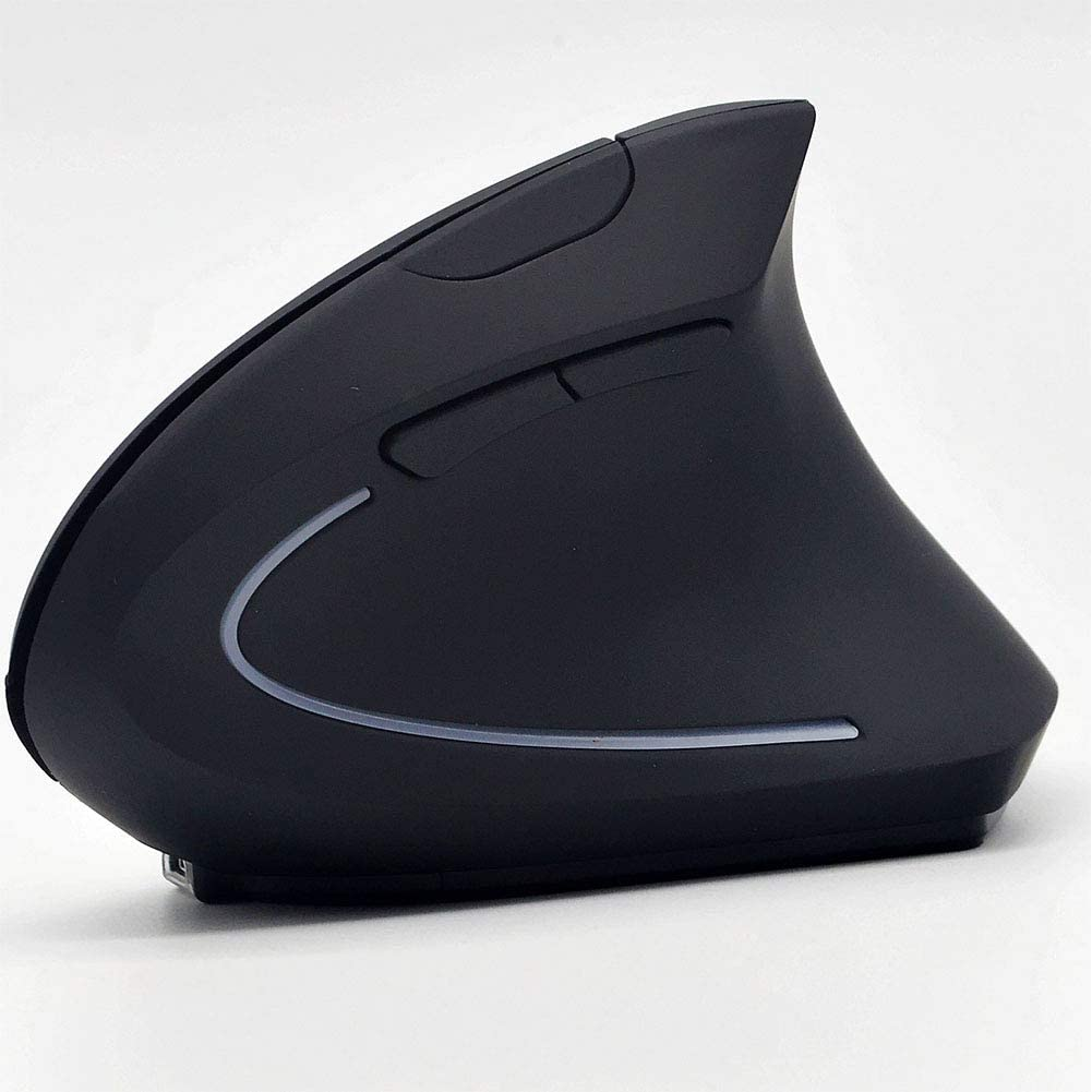 RONSHIN 2.4G Wireless 1600dpi Optical Mouse Ergonomics Vertical Gaming Mouse Computer Mouse Wireless Dry Battery