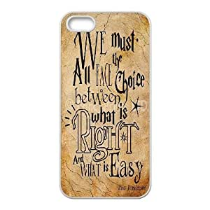Harry Potter quotes Hard Back Durable Case for Iphone 5,5S,diy Harry Potter quotes case