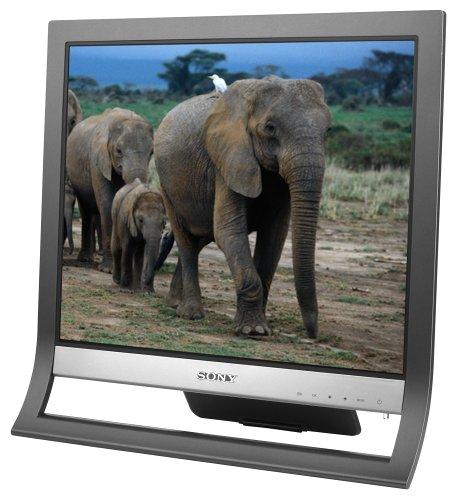 "Sony SDM-HS75/B 17"" LCD Monitor (Black)"
