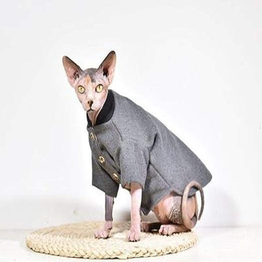 MYYXGS Ropa Sphinx, Ropa para Gatos Sin Pelo, ArtíCulos para Mascotas, Gatitos, para Gatos Sin Pelo Sphinx L: Amazon.es: Productos para mascotas