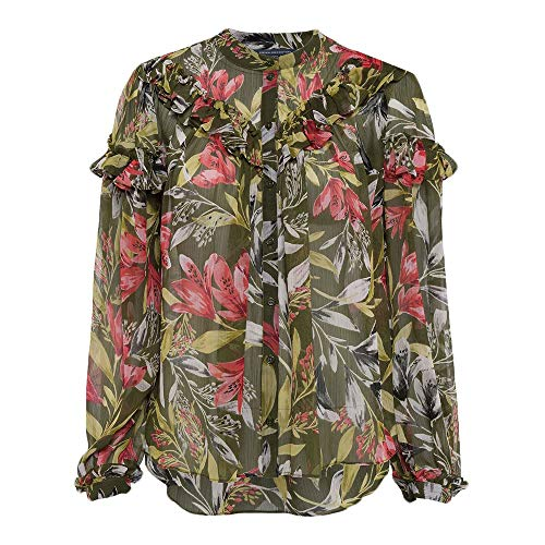 Verde French Para Floreta Connection Camisa 30 cactus Mujer Multi pzHSq
