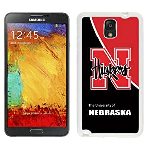 Fashionable And Unique Designed With Ncaa Big Ten Conference Football Nebraska Cornhuskers 17 Protective Cell Phone Hardshell Cover Case For Samsung Galaxy Note 3 N900A N900V N900P N900T White