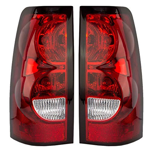 Tail Light Lamps for 04-07 Silverado Truck 1500 2500 3500 Left Right Set