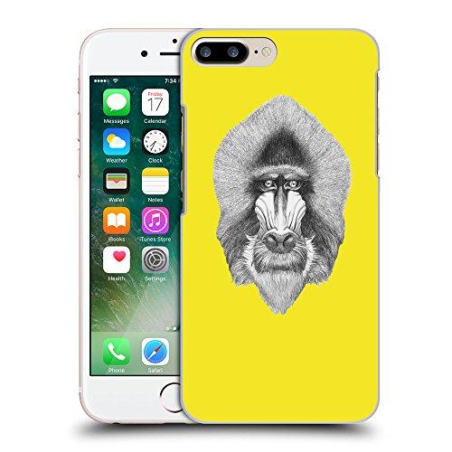 GoGoMobile Coque de Protection TPU Silicone Case pour // Q05400625 Portrait mandrill Jaune canari // Apple iPhone 7 PLUS