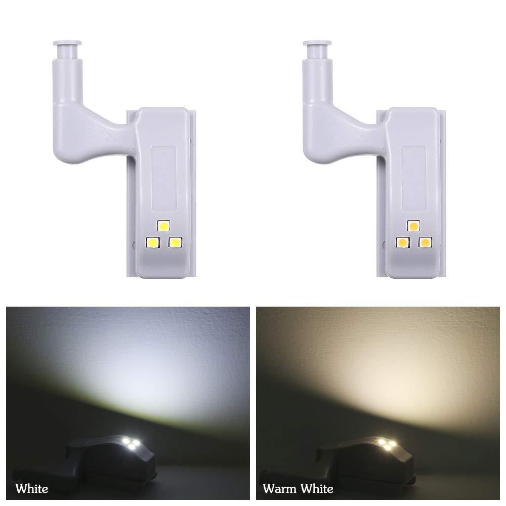 Raitron 1Pcs LED Sensor Hinge Light Cabinet Lamp