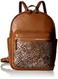 Vera Bradley Womens' Leighton Backpack, Leather, Downtown Dots,One size