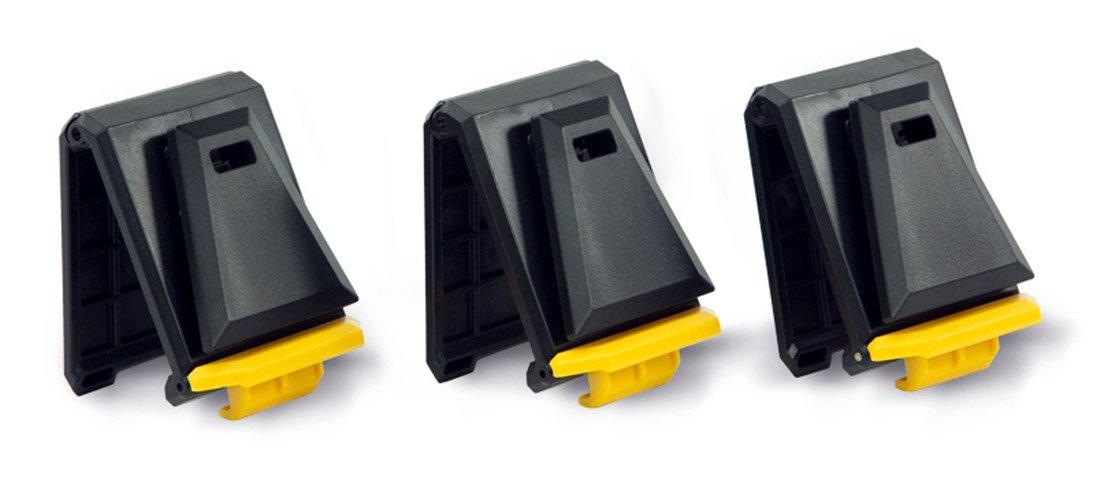 ToughBuilt TB-CTA-01150A ToughBuilt Cliptech Hubs, 3-Pack