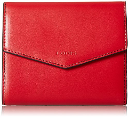 5 French Purse Wallet (Lodis Audrey Lana French Purse Wallet, Red, One Size)