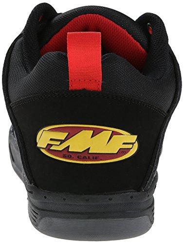 DVS APPAREL Comanche - Zapatillas de Skateboarding de cuero Hombre Black (Blk/Fmf Gunny)
