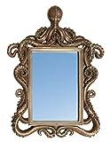 Cheap Octopus Mirror, Polystone Frame, 14 Inch