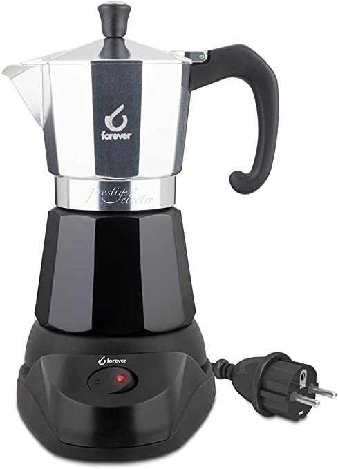 Kaufgut 120702 - Cafetera eléctrica para 6 tazas de café Presti ...