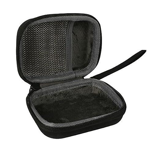 co2CREA Carrying Travel Storage Organizer Case Bag for Snark SN-5x SN6/ KLIQ UberTuner Guitar Bass Violin Ukulele Tuner/String Winder (Small Tuner)