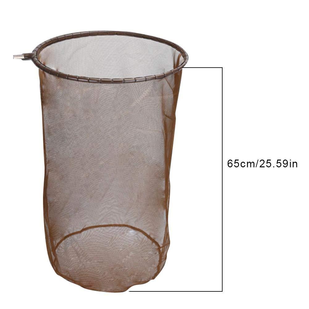 aragoste SNIIA Sacco Rete da Pesca profondit/à Rete 65CM Diametro 40cm Ideale per la Pesca di granchi ECC