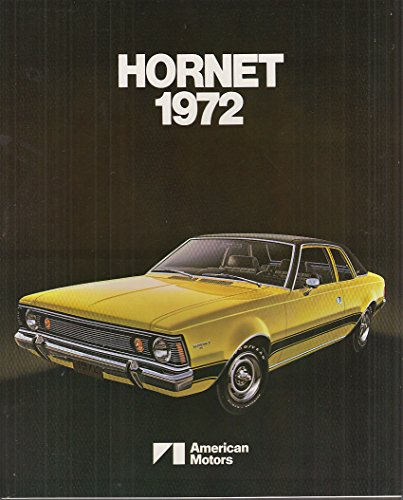 1972 AMC American Motors Hornet Export Brochure: AMX-7203