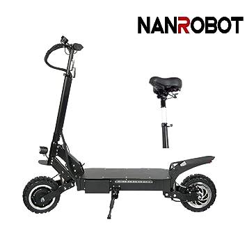 NANROBOT RS4 3200 W Patinete eléctrico Ligero Plegable con ...