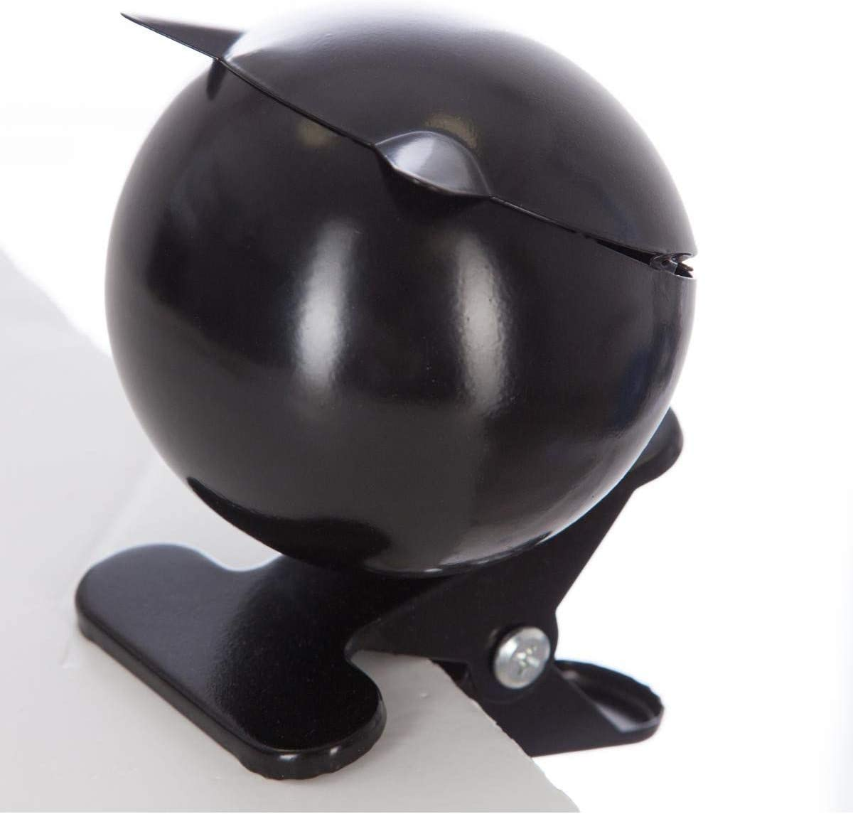 14 x l /Posacenere Sfera Pinza Nero D9 13,7 cm Nero 10,3 x H Ferro Atmosphera/ L