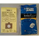 20 Kenmore Style C & Style Q 5055 50557 50558 Micro Lined Canister Vacuum Bags. Also Fits Panasonic C-5, C-18 by DVC 3 Fits Kenmore Canisters made in the Last 20 Years Including Whispertone, Intuition, Elite and Progressive; Also will fit Panasonic C-5 replace Kenmore part numbers; 5055, 50557, 50558, 20-50104, 50104, 54321, 20-54321, 53292, 631396, 20-53291, 53291, 20-53290, 53290, KM48751-12. Also fits the HEPA Cloth Kenmore Style Q bags. IDEAL FOR ASTHMA & ALLERGY SUFFERERS, HOMES WITH BREATHING ISSUES. Designed to fit Kenmore Canister models 23040, 23243, 23350, 24320, 24321, 24325, 24326, 24327, 24350, 24390, 24410, 24971, 24975, 24981, 24991, 25430, 2621, 26312, 26320, 26325, 26355, 26390, 26395, 26410, 26413, 26430, 26435, 26450, 26455, 27514, 27515, 27614, 27615, 27814, 27815, 27914, 27915, 28014 and 28015 Canister models.