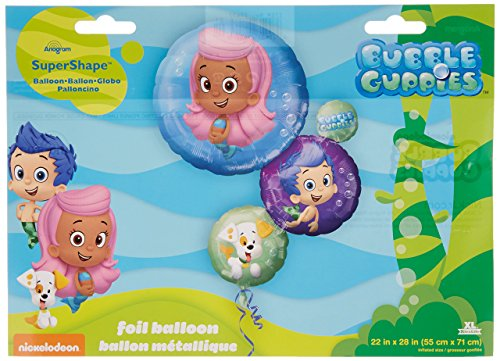 Anagram International 2963701 Bubble Guppies Shape Pack, 28