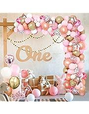 Unisun Ballon Boog Kit, Verjaardagsfeestje Decoratie Ballonnen voor Verjaardagsfeestje Baby Shower Huwelijksverjaardag Afstuderen Decoratie Achtergrond Accessoires